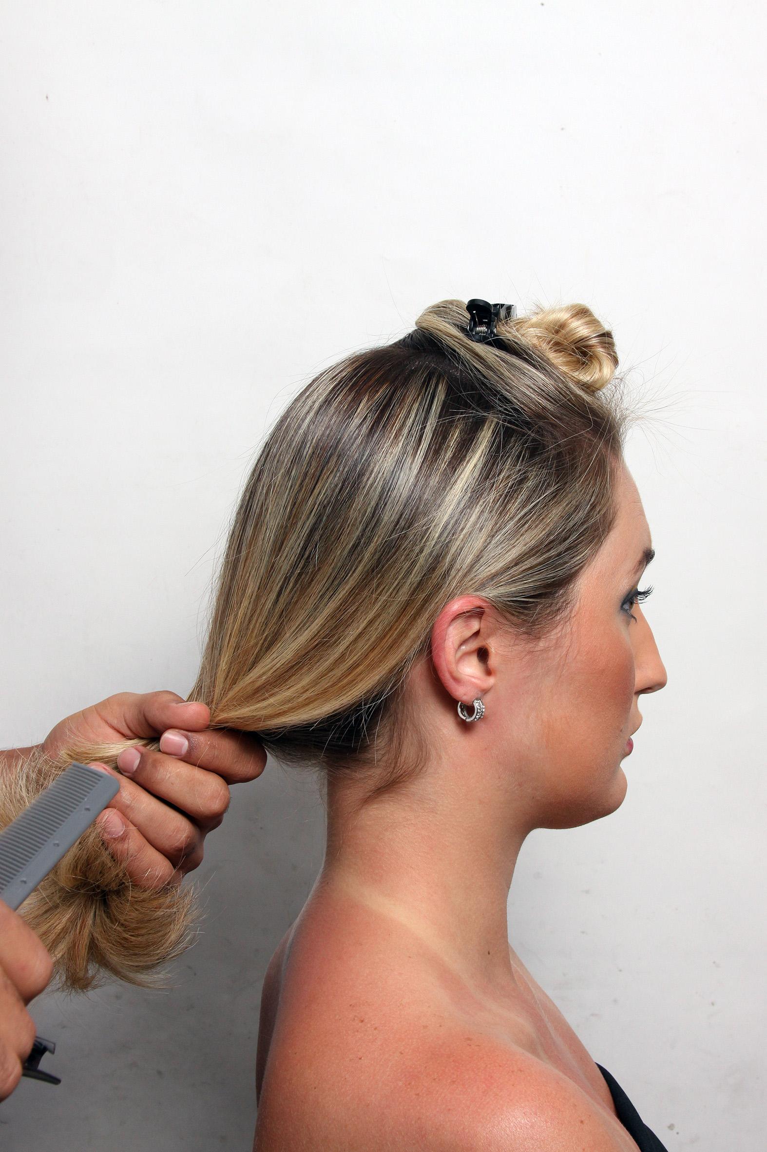 Стрижка длиные волосы смотреть